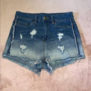 BLANK NYC distressed high waisted shorts! (US 26)